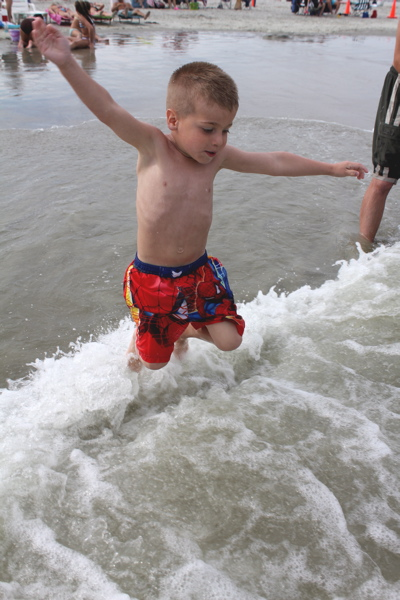 Nate Jumps Waves