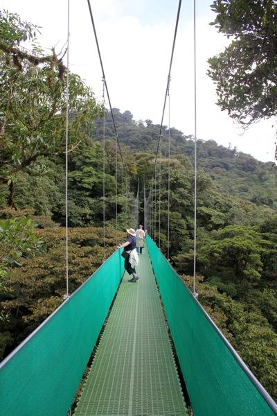 Walking Onto a Bridge
