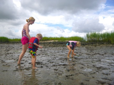 On the Mud Flats