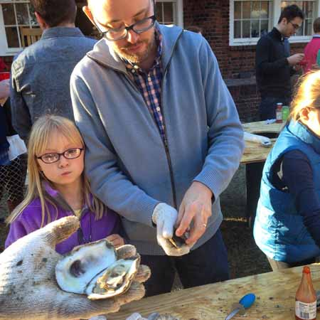 Christmas Day Oyster Roast