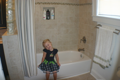 Camille's New Tub
