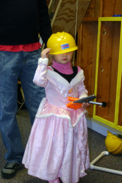 Princess Construction Worker