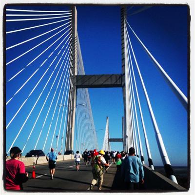 Going Up the Bridge