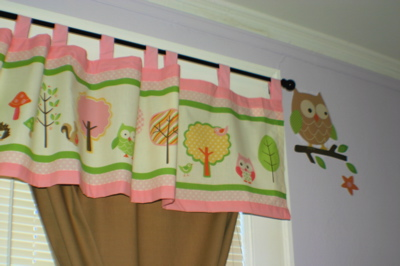 Window Treatment and Owl