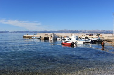 Boat mooring in Mirca