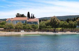 Villa Mirca is right on the main beach in Mirca
