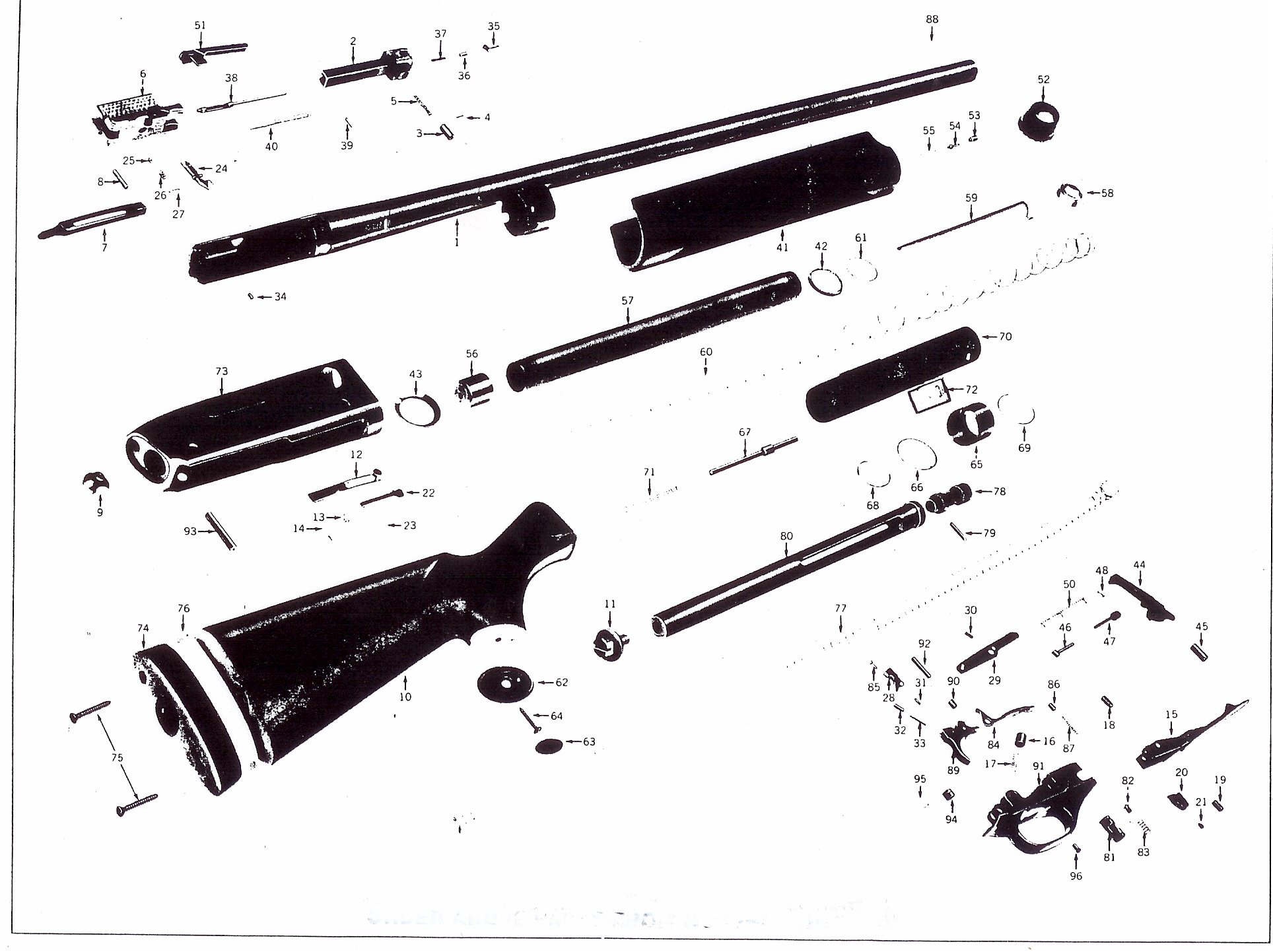 All Avaialble Winchester Gun Parts And Gun Stocks Bob S