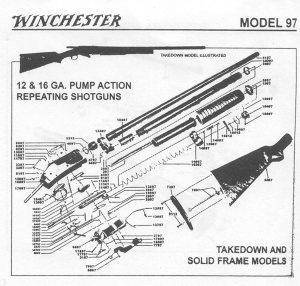 All Avaialble Winchester Gun Parts and Gun Stocks, Bob's Gun Shop, Winchester Factory shotgun