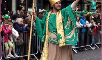 St. Patrick's Day Parade in Dublin