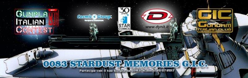 STARDUST MEMORIES Gunpla Italian Contest
