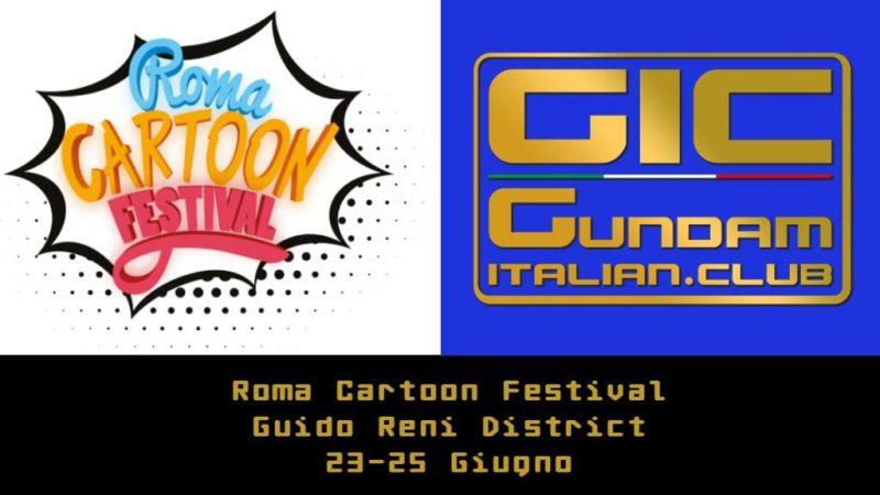 il gic alla prima edizione del roma cartoon festival