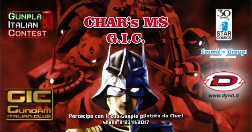 CHARs MS GUNPLA ITALIAN CONTEST