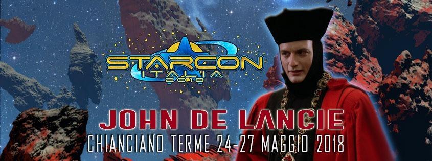 John De Lancie ospite della StarCon 2018