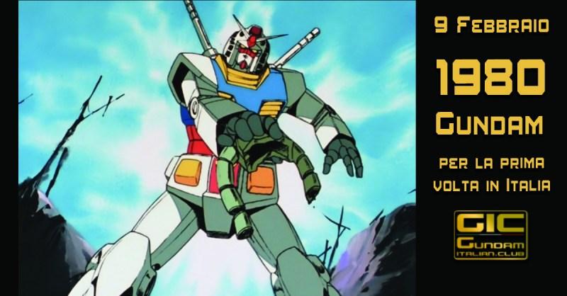 Gundam per la prima volta in Italia
