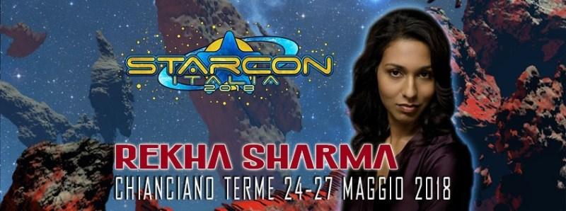 rekha sharma ospite della StarCon 2018