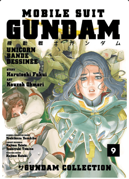 Gundam Unicorn Bande Dessinee vol 9