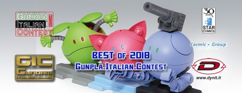 Best of the Year 2018 Gunpla Italian Contest