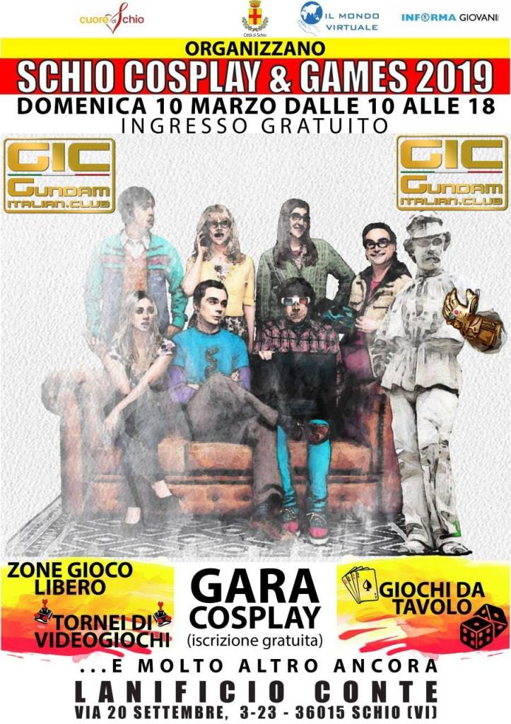 Il GIC a Schio Cosplay and Games 2019