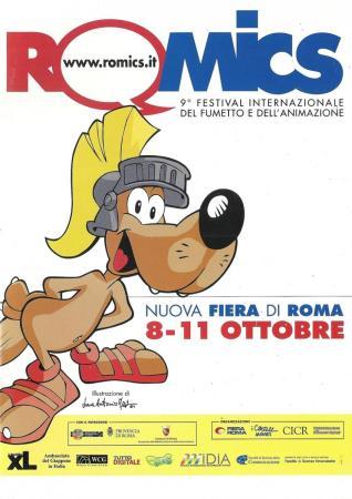 Il GIC a Romics 2009
