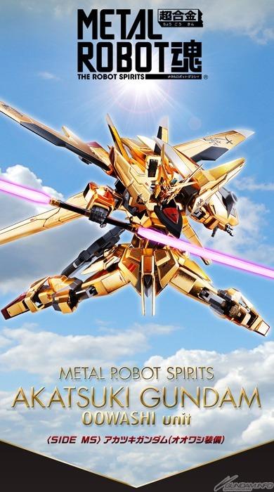 Metal Robot Spirit Akatsuki Gundam