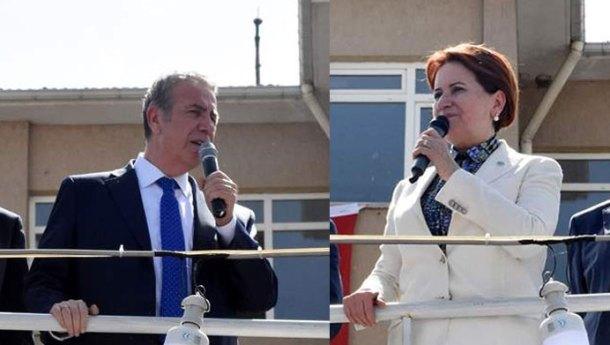 Meral Akşener ve Mansur Yavaş Keskin'e Geldi