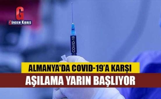 Ο εμβολιασμός κατά του COVID-19 ξεκινά αύριο στη Γερμανία