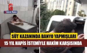2 εργαζόμενοι που έκαναν μπάνιο στο λέβητα γάλακτος, απαίτησαν 15 χρόνια φυλάκισης ενώπιον του δικαστή