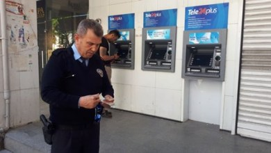 Photo of ATM'de unutulan para polise teslim edildi