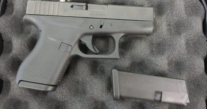 Used Glock 42  380 w/ extra magazine and case $395