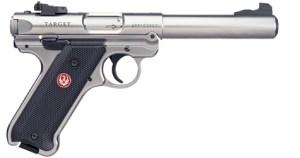 New Ruger Mark IV .22LR Target Stainless 40103 $527