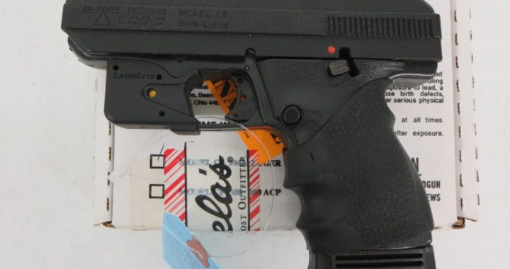 Used Hi-Point C9 9mm w/ Laser and box $175 – GunGrove com
