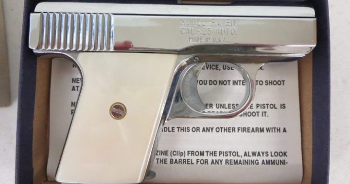 On Consignment: Phoenix Arms Raven  25 acp w/ box $125