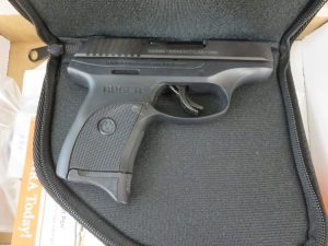 Used Ruger LC9s 9mm w/ case and box $325