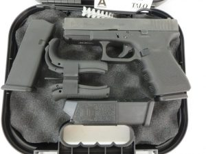 Used Glock 19 Gen 4 Talo w/ night sights, 2 extra magazines and case $525