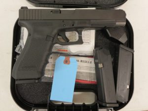 Used Glock 35 Gen 4 .40 S&W w/ case and 2 extra magazines.  $575