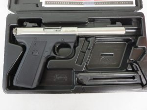 On Consignment: Ruger MKIII 22/45 w/ Hard Case & Ex Mag $350