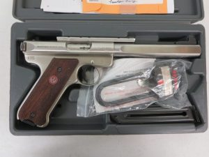 Used Ruger Mark III Target .22LR w/ case and extra magazine $450