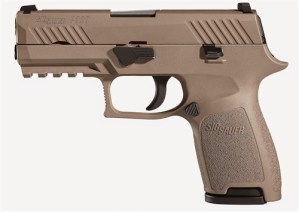 New Sig Sauer P320 Compact 9mm FDE w/ night sights $579