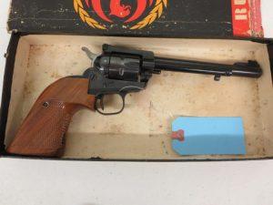 Used Ruger Super Single Six .22LR w/ box $395