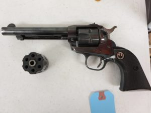 Used Ruger Single Six .22LR / 22 Mag Combo $450