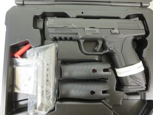 Used Ruger American 9mm w/ case and extra magazine $425