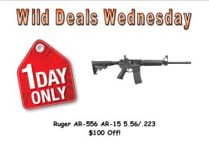 Wild Deals Wednesday - One Day Only - Ruger AR-556 AR-15 $100 off!