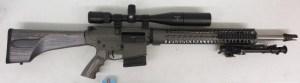 On Consignment:  Custom CMMG AR-10 6.5 Creedmoor w/ scope $2495