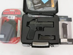 On Consignment:  Sig Sauer P320 RX w/ extras $900
