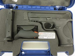 Used Smith & Wesson M&P9 9mm w/ extra magazine and case $395