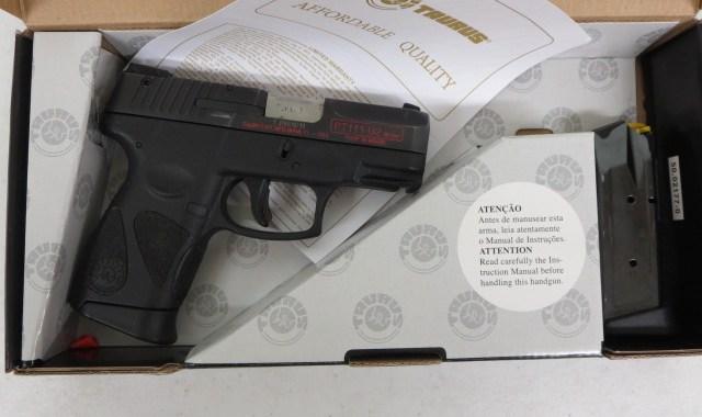 Used Taurus PT-111 G2 9mm w/ box and extra magazine $235