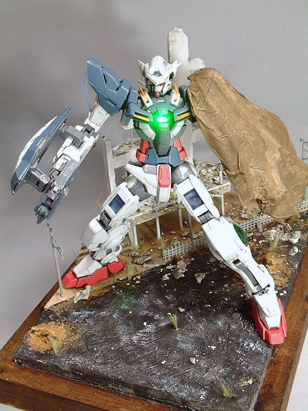 Diorama Mg Gundam Exia Repair W Led Big Size Images