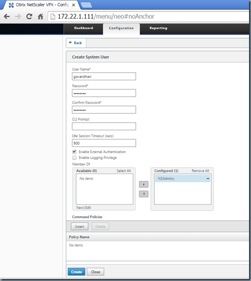 Setting up NetScaler lab environment from the scratch – GUNNALAG