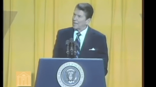Flashback: Ronald Reagan's powerful rebuke of hate groups
