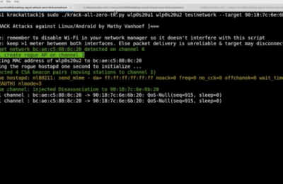 Key Reinstallation Attacks Breaking WPA2 by forcing nonce reuse